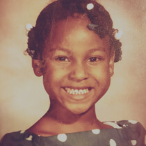Baby photo of Toya